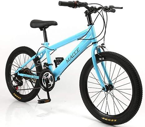 YAMEIJIA Montar en Bicicleta de montaña 20 Pulgadas 21 de ...