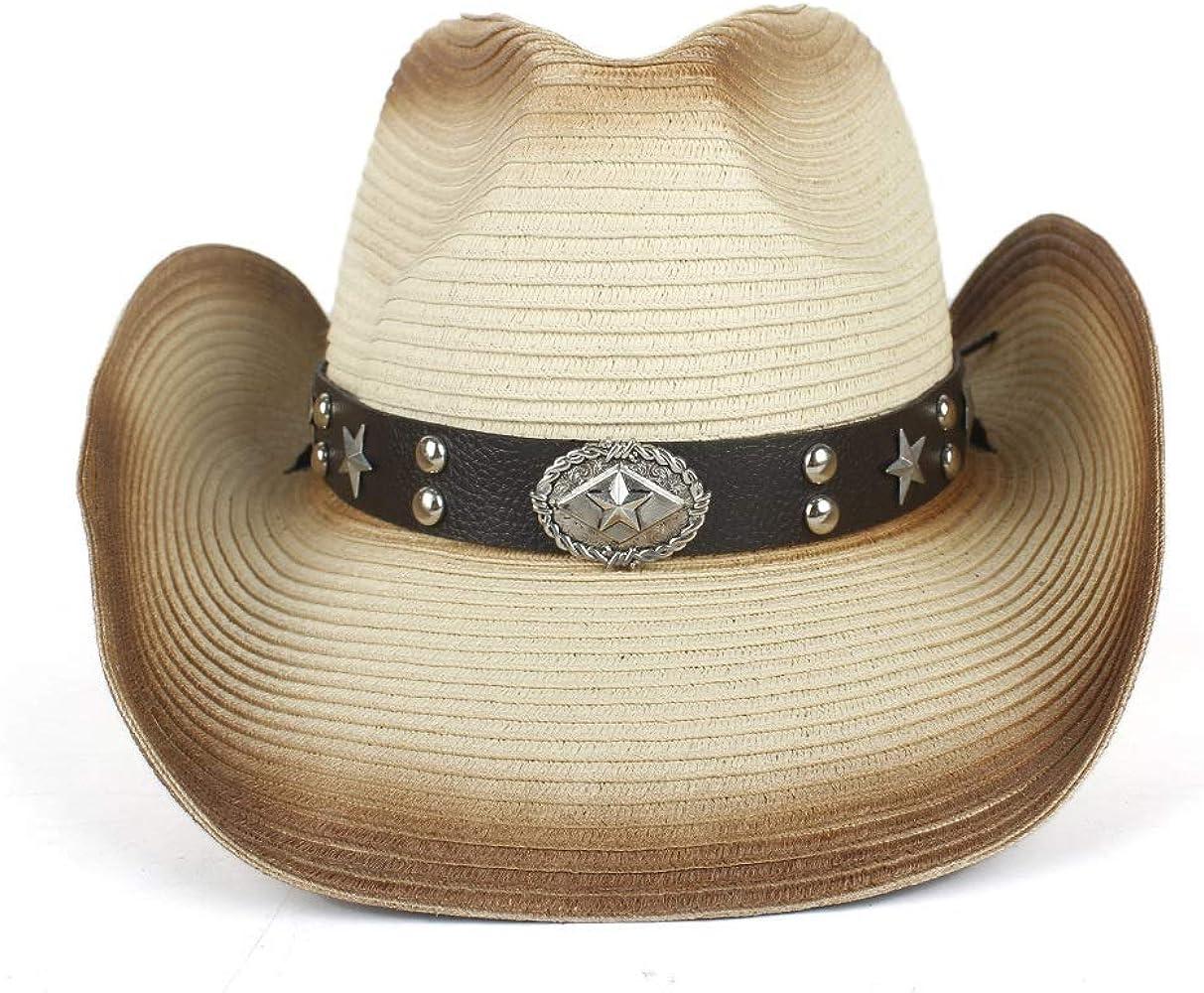 GHC gorras y sombreros Sombrero de paja vaquera de verano ...
