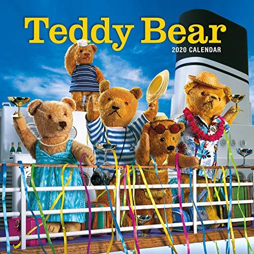 Teddy Bear Wall Calendar 2020