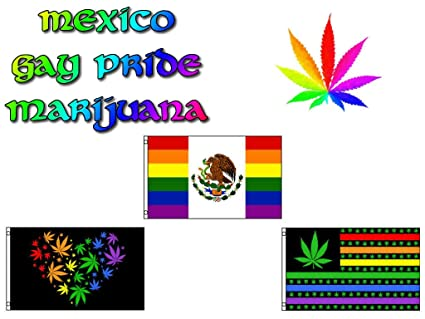 3x5 ft Wholesale Lot Mexico Marijuana Weed Gay Pride Set Flags Flag 3/'x5/'