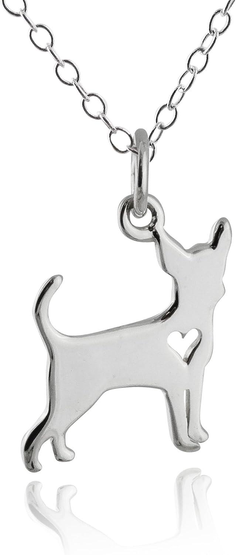 Sterling Silver 3-D 20mm Poodle Dog Charm