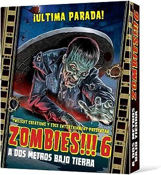 Edge Zombies!!! 6: A Dos Metros Bajo Tierra, Juego: Amazon.es: Juguetes y juegos