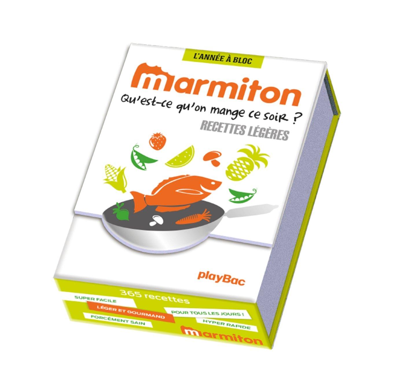 Amazon Fr Annee A Bloc 365 Recettes Legeres Marmiton Marmiton