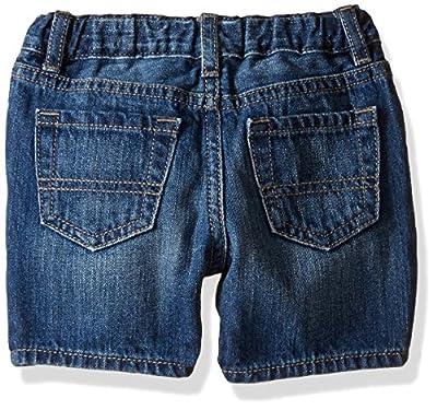 The Children's Place Baby-Boys' Li'l Guy's 5 Pocket Denim Shorts
