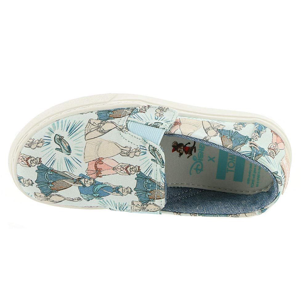 TOMS Girl's, Luca Slip on Shoes Disney Cinderella 5 M by TOMS Kids (Image #2)