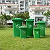 Jbshop Outdoor Trash Cans Outdoor Trash Can