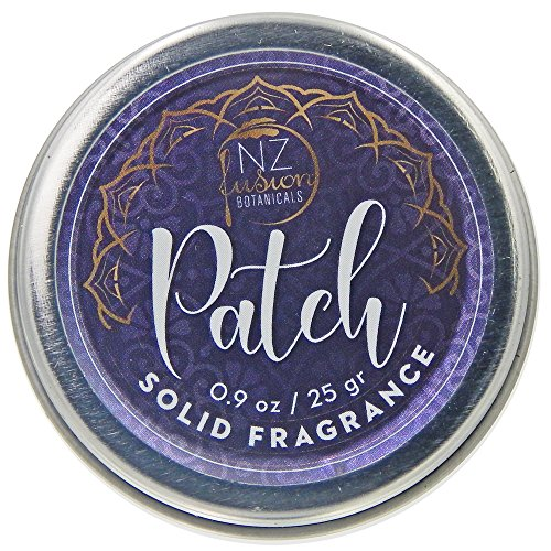 Sandalwood Solid Perfume (Patch Solid Fragrance Patchouli and Sandalwood)