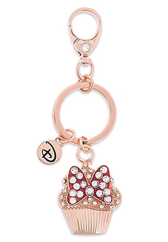 Disney Parks Keychain - Disney Boutique - Minnie Bow Cupcake