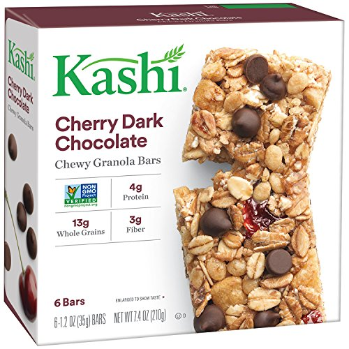 Kashi TLC Chewy Granola Bar, Cherry Dark Chocolate, 7.4-Ounce Box (Pack of 12)