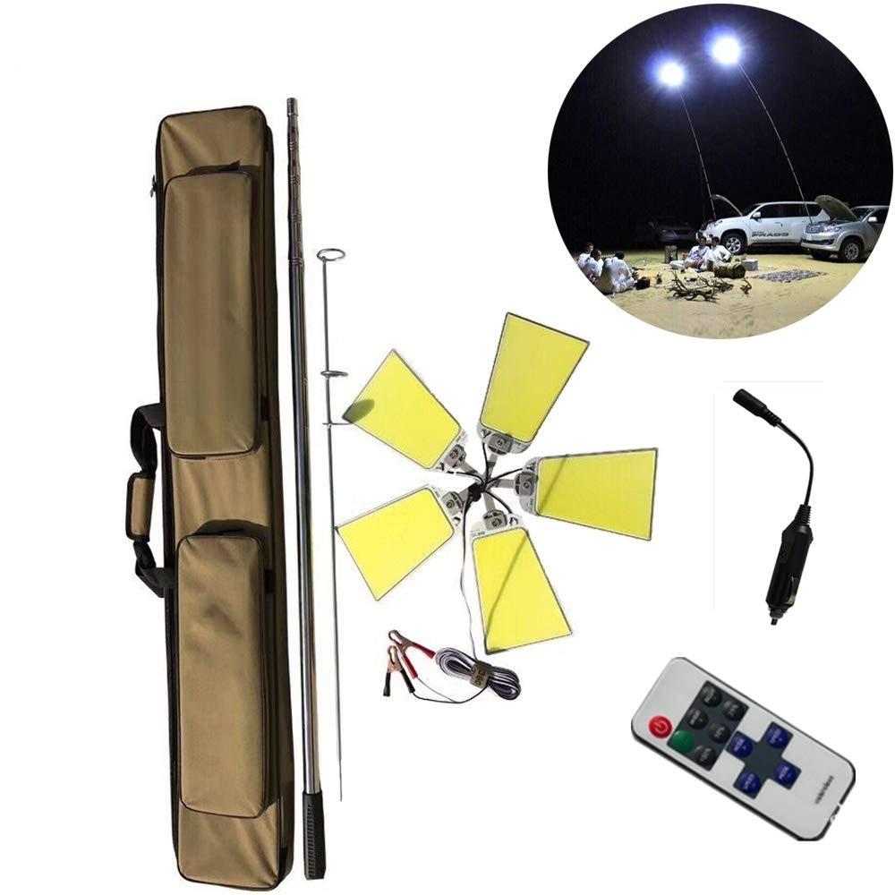 1250 W Außenbeleuchtung LED-Leuchten, Mit Dem Auto Verbunden, Super Helle Campingleuchten, Geeignet Für Auto-Reisen, Camping, Nachtfischen, Outdoor-Aktivitäten