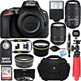 Nikon D5600 24.2MP DX-Format DSLR Camera + AF-S 18-140mm & 55-300mm ED VR Lens + Accessory Bundle