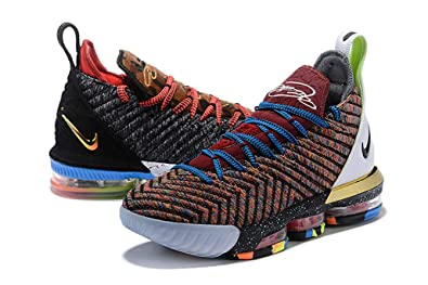 "new products ccae7 cbbe3 Ziyueguan Mens Basketball Shoes Lebron 16 Training Shoes""1 Thru 5"" (7 US"