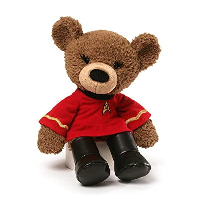 "GUND Star Trek Lieutenant Uhura Teddy Bear Stuffed Animal Plush, 13.5"": Gund: Toys & Games"