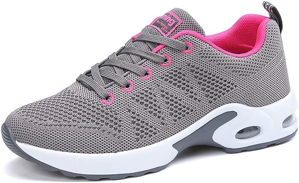 Air Zapatillas de Deportes Mujer Zapatos Deportivos Running Zapatillas para Correr Ligero y con Estilo 34-43 EU: Amazon.es: Zapatos y complementos
