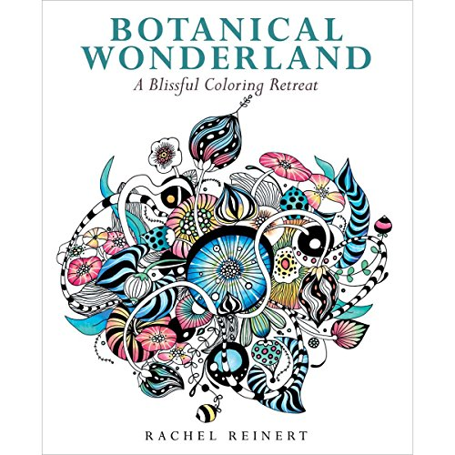 45 Width Overall - Botanical Wonderland: A Blissful Coloring Retreat