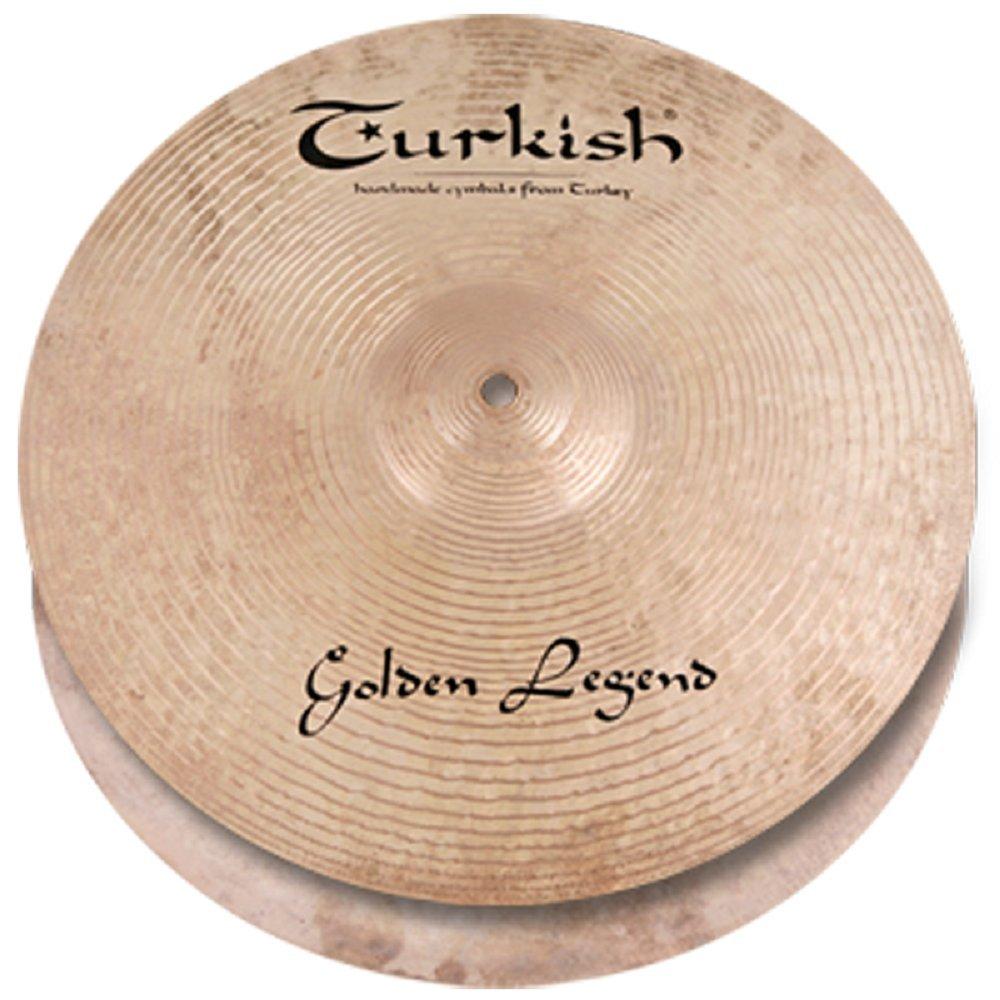 Custom Hi-Hat Turkish *  B073X3JDV3 14-inch Series Golden GL-H14 Cymbals Legend
