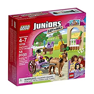 LEGO Juniors 10726 Stephanie's Horse Carriage Building Kit (58 Piece) - 61bEVBDQSjL - LEGO 10726 Stephanie's Horse Carriage Building Kit (58 Piece)