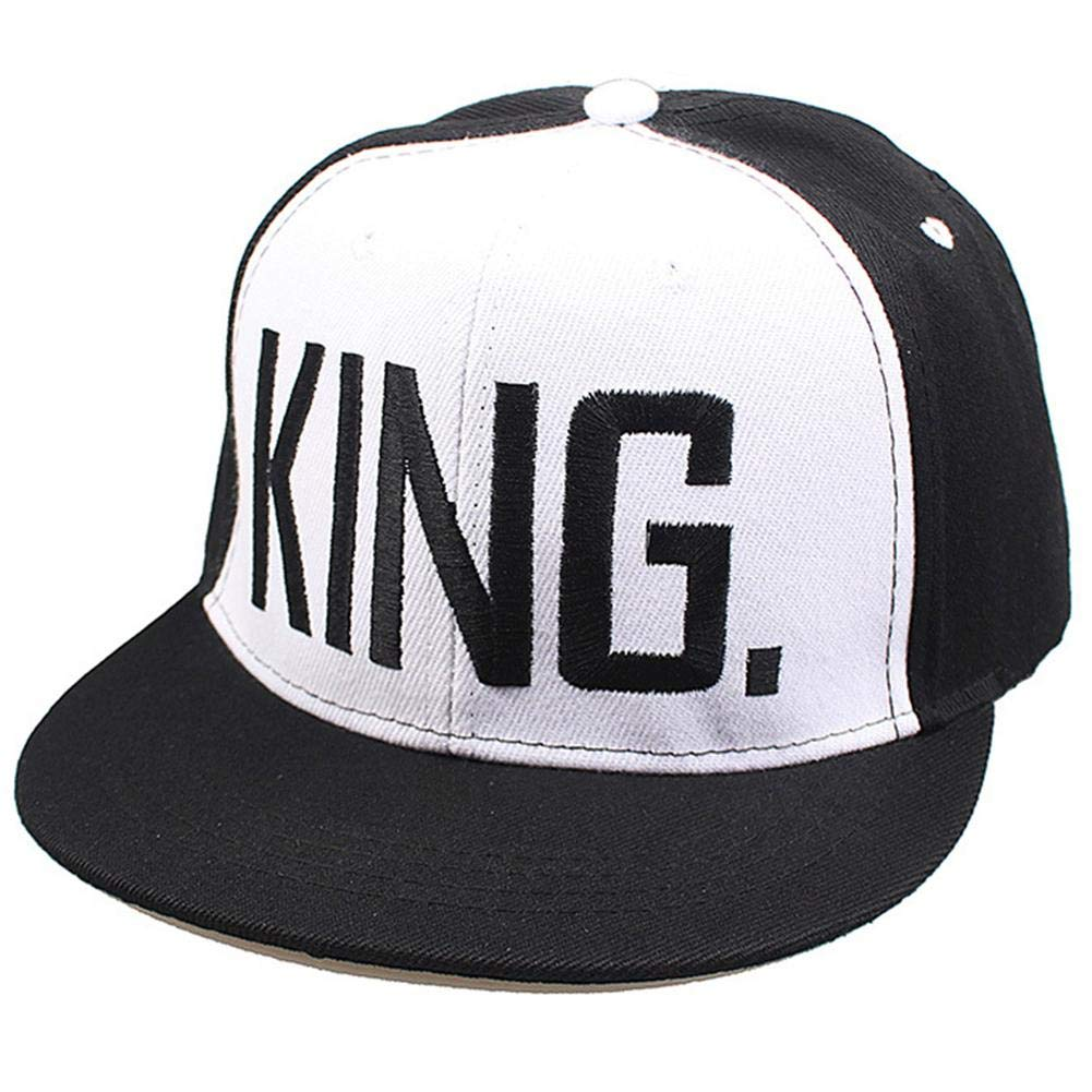 SHASO Baseball Cap The King/Queen Letter Printing Couple Hat Girls ...