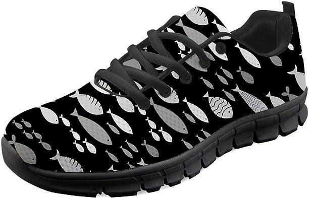 Gopumchy - Zapatillas de Running para Hombre, Color Negro, Suela ...