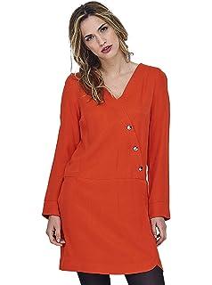 e46d763a9a0fc Mado et les autres Robe en crêpe Stretch Femme  Amazon.fr  Vêtements ...