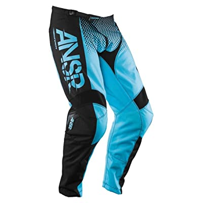 Answer Racing A17.5 Syncron Men's Off-Road Motorcycle Pants - Blue/Black/Size 28: Automotive