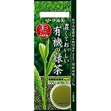 伊藤園 濃くておいしい有機の緑茶 煎茶 100g