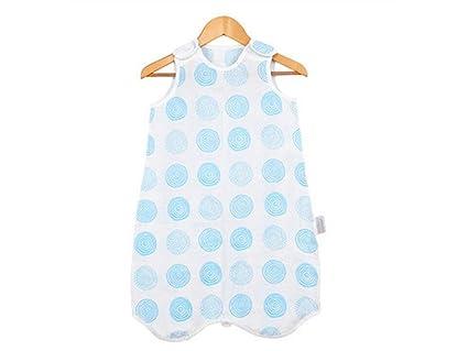 JxucTo Bolsa de dormir sin mangas del verano del bebé recién nacido Anti-kick Edredón