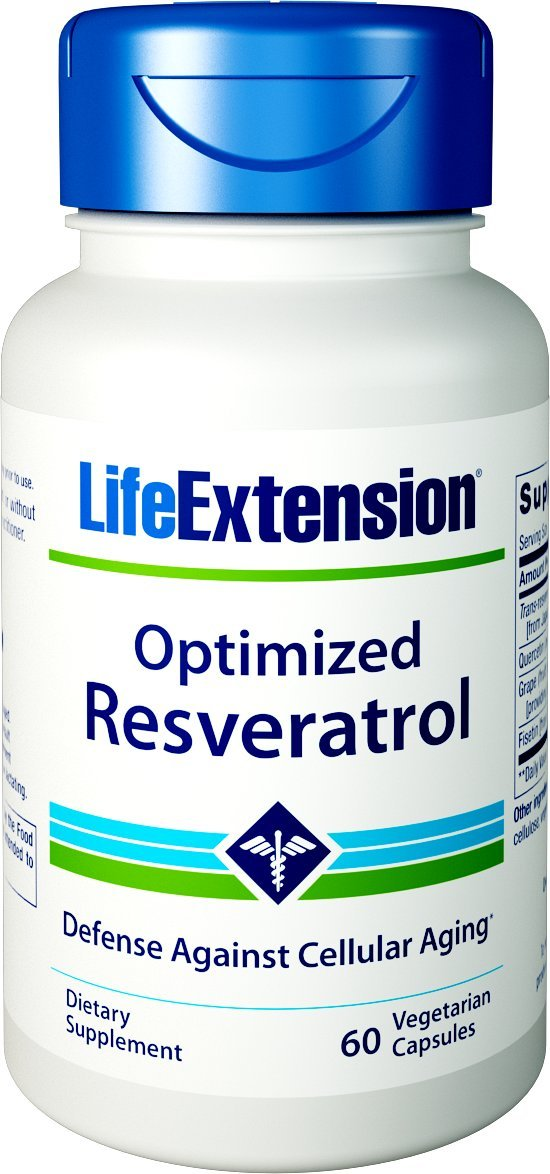 Life Extension Optimized Resveratrol, 60 Vegetarian Capsules