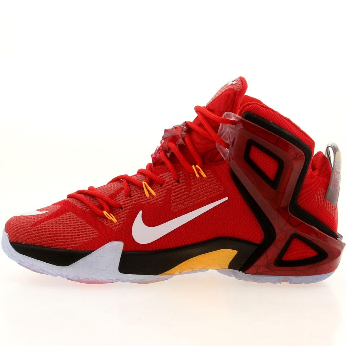 the latest e754a e5c49 Amazon.com  Nike Lebron 12 Elite - 724559 618  Clothing
