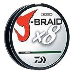 Daiwa J-Braid - Hilo Trenzado Redondo (300 m, 8 hebras)