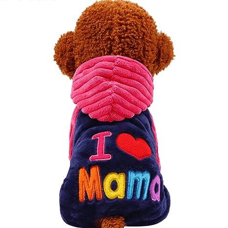 O-center Love Mama - Disfraz de Halloween para Perro, Gato o Cachorro,
