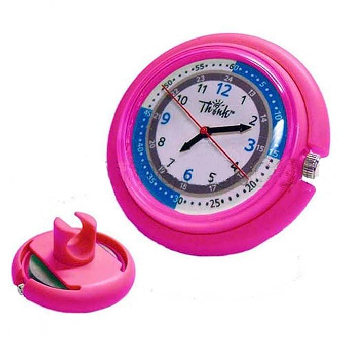 Prestige Medical Reloj para fonendo. Original reloj digital analógico para el fonendoscopio. (Fucsia