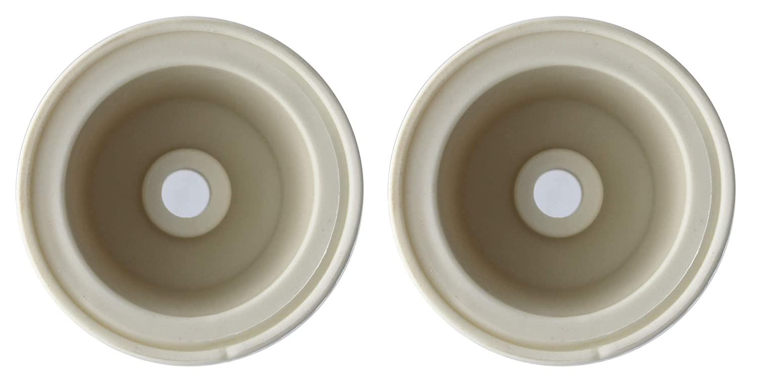 Home Brew Ohio Medium Universal Carboy Bungs-Drilled-Set of 2