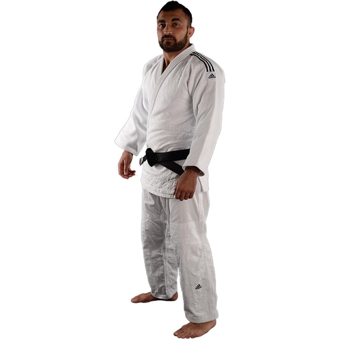 adidas Champion II IJF Judo Anzug Gi Weiss: : Sport