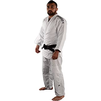 judogi adidas champion bianco