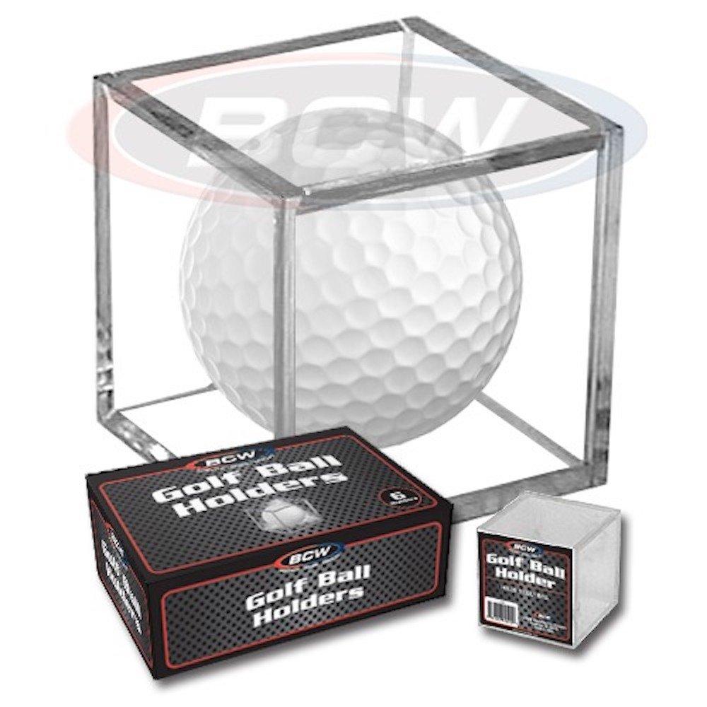 ( 1 ) BCW ゴルフボール収納正方形陳列ケース サイン用 B014CY5VJE
