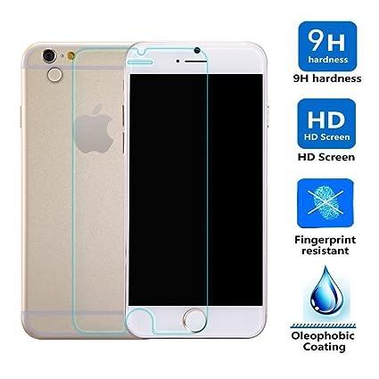 """3d0504905bc Protector de Pantalla para Iphone 6 Plus 6S Plus 5.5"""" Cristal Vidrio  Templado Premium,"""