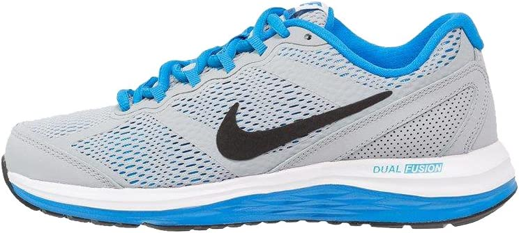 Nike Dual Fusion Run 3 (GS) Laufschuhe Wolf Grey Black White