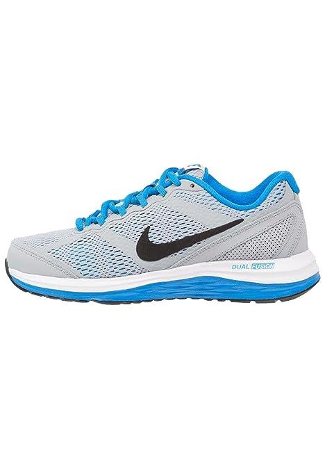 Nike Dual Fusion Run 3 (GS), Zapatillas para Niños, Gris