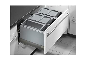 Hailo XXL Inset 80.6/60 Einbau Abfallsammler: Amazon.de: Küche ...