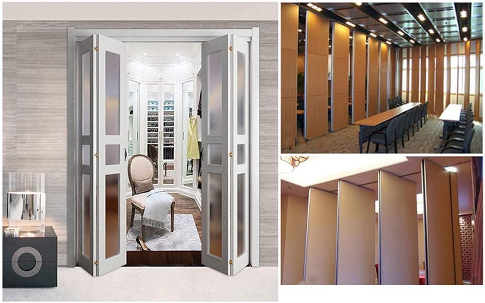 GONGFF Ruedas para Muebles (2 Piezas) Puerta Plegable Universal ...