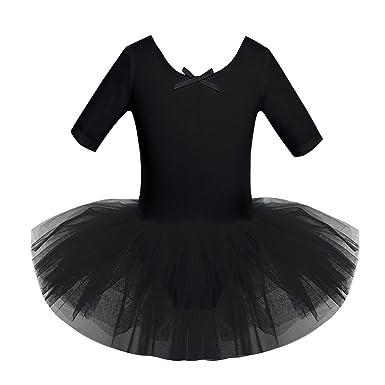 5ee1a286d66b Amazon.com  CHICTRY Girls  Short Sleeves Back Detailing Ballet Tutu ...