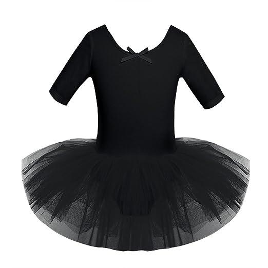 fbcad6e04 Amazon.com  iiniim Kids Girls Cutout Back Ballet Dance Tutu Dress ...