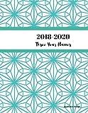 2018 - 2020 Geometric Design Three Year Planner: 2018-2020 Monthly Schedule Organizer - Agenda Planner for the Next Three Years/36 months calendar ? ... (3 year Diary/3 year Calendar/Logbook) by Tashena Ebanks