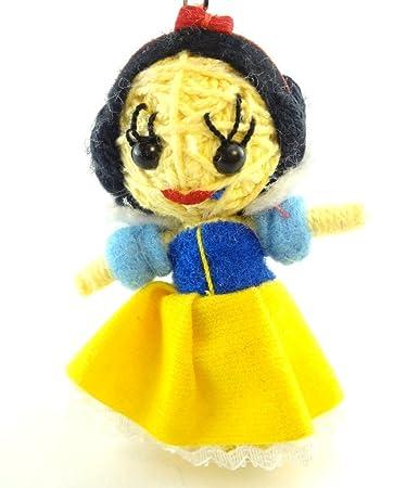 Amazon.com: Snow White – Voodoo Cadena Llavero con muñeca ...