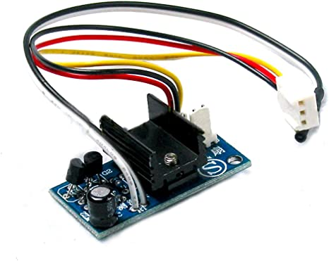 qianson DC 12 V 1 A 6 W automático PC ventilador de la CPU ...