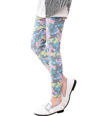 02fdc9e4b225e Amazon.com: Tortor 1Bacha Kid Girls' Print Ankle Length Capri Leggings:  Clothing