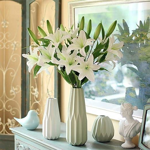 Simulación De Flores Artificiales Decoración De Lirio Falso Floral ...
