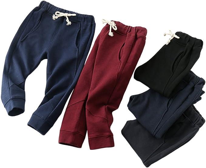 Baby Boys Girls Pants Kids Toddler Sweatpants Cotton Long Trousers Pants