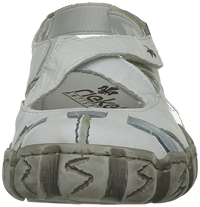 Rieker Zapatillas Amazon Casa Mujer Para Zapatos es Cuero De rrZxYwd